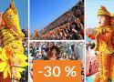 Francie, Karneval v Nice/citrusový festival v Mentonu